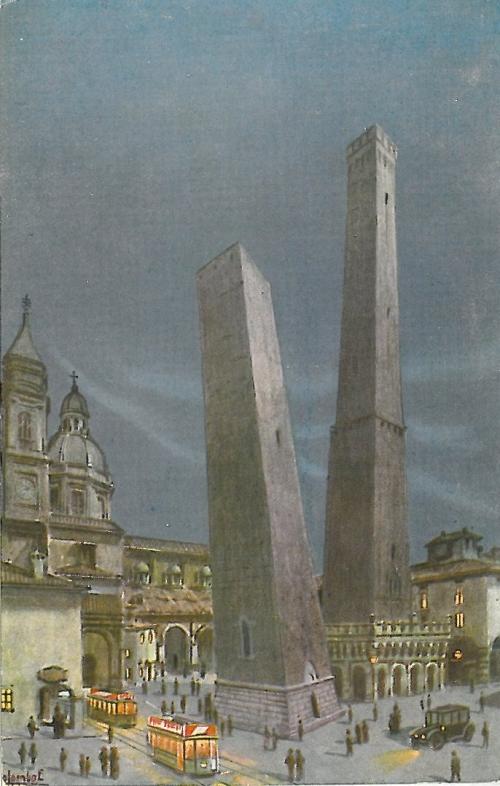 Garisenda, Bologna, la torre