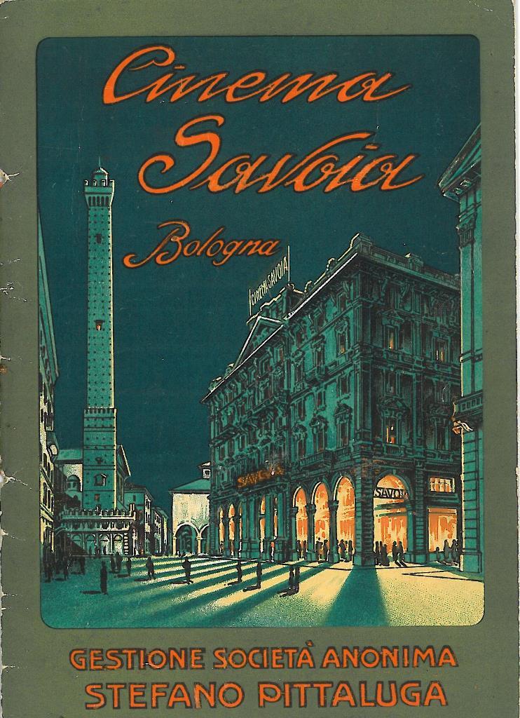 Cinema Savoia a Bologna, dalle Collezioni di Genus Bononiae