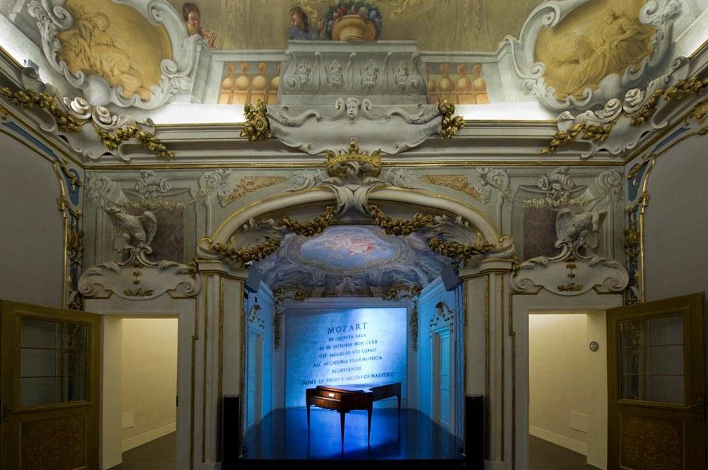 Sala della Musica al Museo della Storia di Bologna