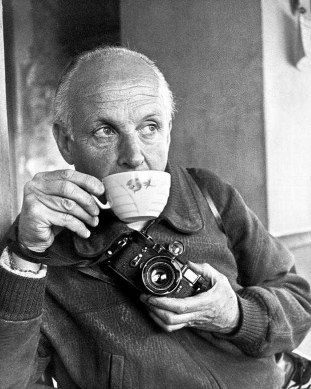 Henri Cartier-Bresson, Autoritratto