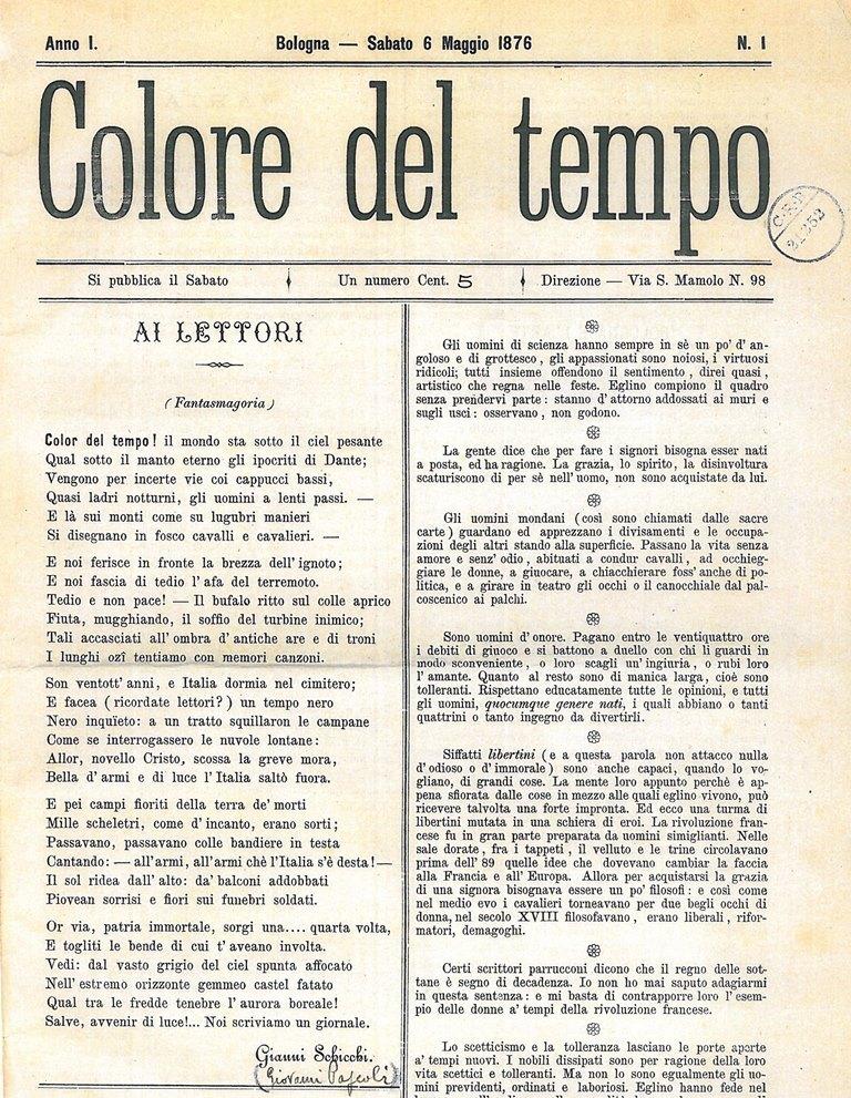 Colore del tempo 1876