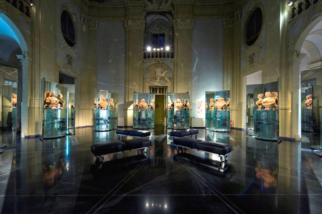Sala della Cultura a Palazzo Pepoli. Museo della Storia di Bologna