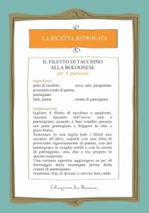 Filetto di tacchino alla bolognese