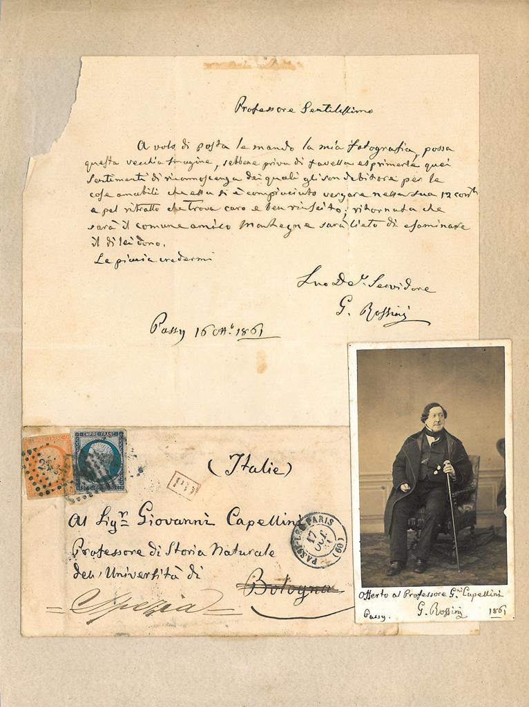 Lettera Rossini