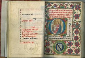 Il libro delle ore e la miniatura