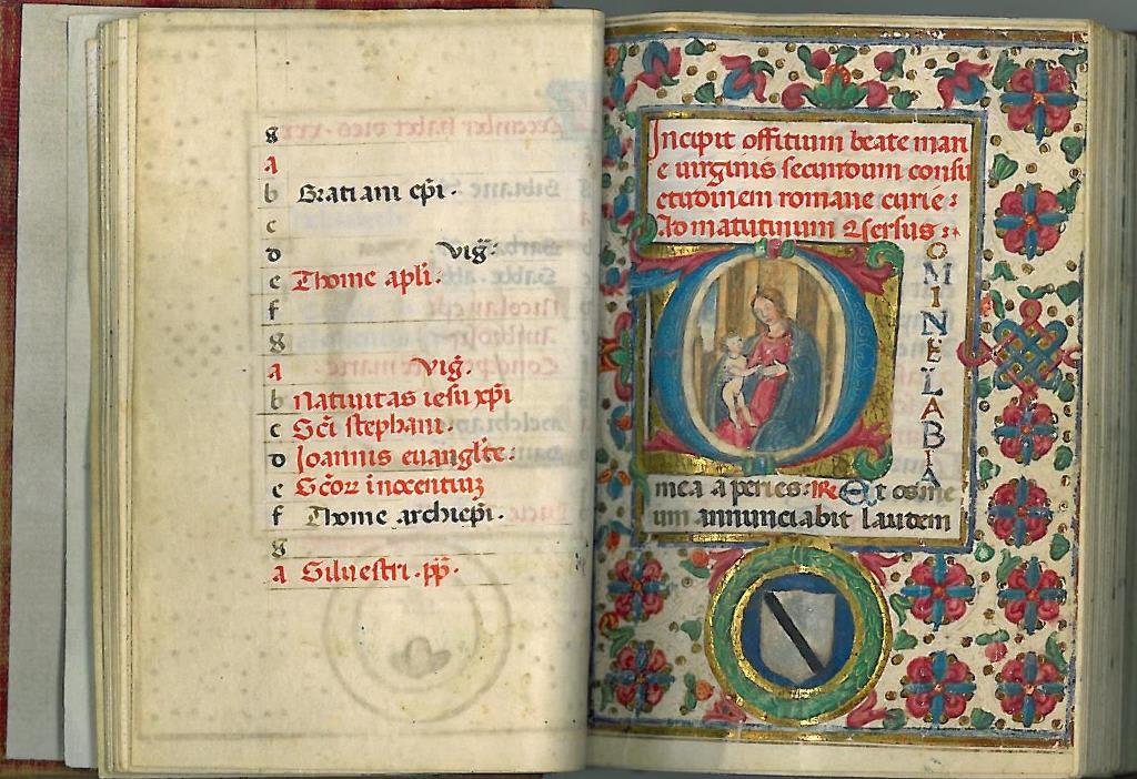 Libro dore 1480