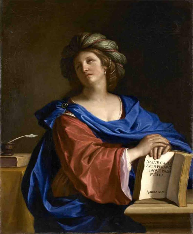 Sibilla Samia Guercino