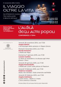 L'aldilà degli altri popoli – Conferenze a tema al Museo della Storia